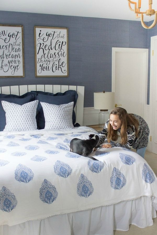 Great Modern Coastal Bedroom Makeover Reveal. Teen Bedroom ColorsTeen . Part 29