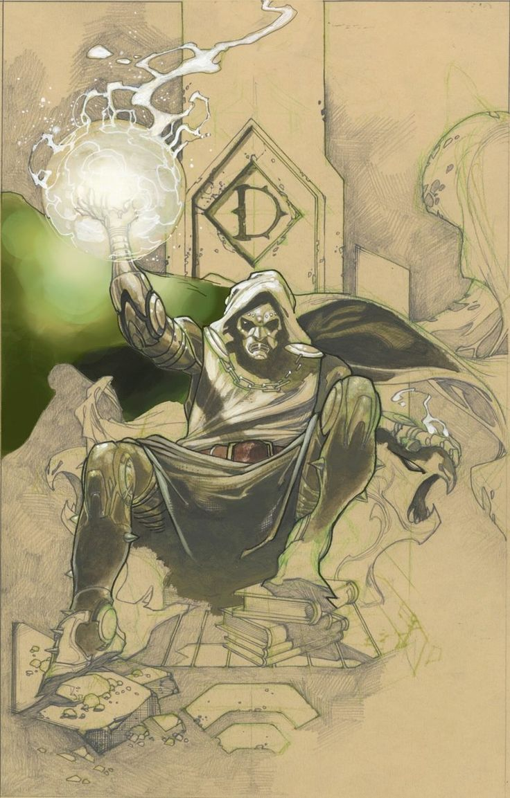 Doctor Doom by Simone Bianchi *                                                                                                                                                                                 More