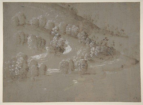 Landscape (recto); Landscape (verso)