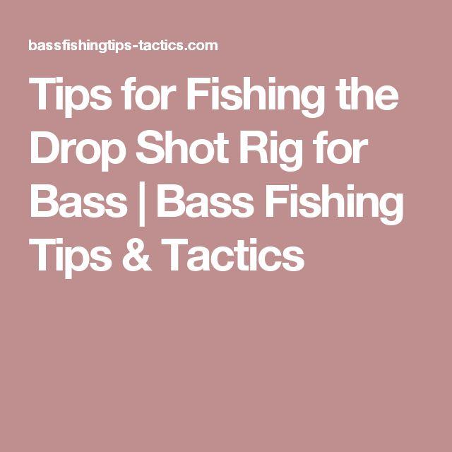 Tips for Fishing the Drop Shot Rig for Bass | Bass Fishing Tips & Tactics