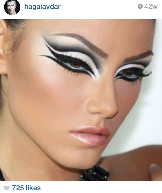 25 Best Ideas About High Fashion Makeup On Pinterest Warrior Makeup Fashion Makeup