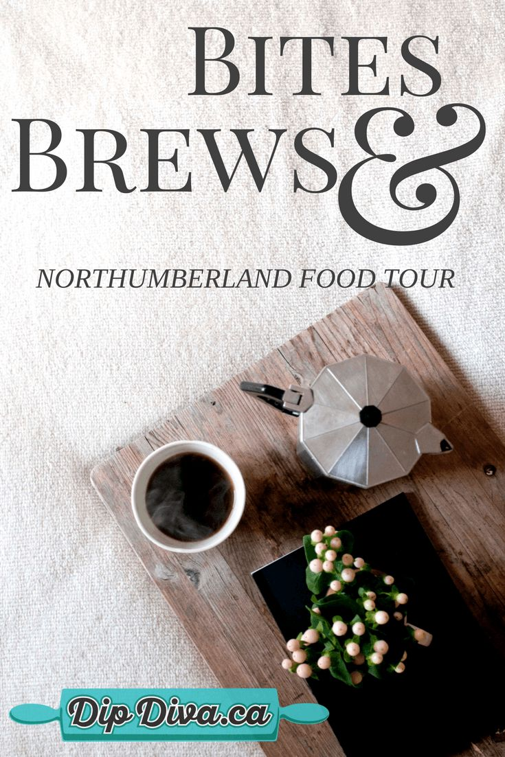 Visit 2 craft breweries, a gourmet emporium, the sweetest cafe, an artistic chocolatier, a burger celebrity and local butter tart legend in Northumberland