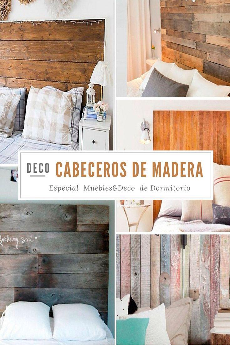 Lo natural está de moda Decora tu dormitorio con estos únicos y exclusivos cabeceros y cuadros de madera de pino. Con ellos conseguirás un espacio cálido y natural con carácter vintage. #Deskontalia #muebles #cabeceros #madera #deco #diseño #pino #galicia #artesano #cama #dormitorio #decoración