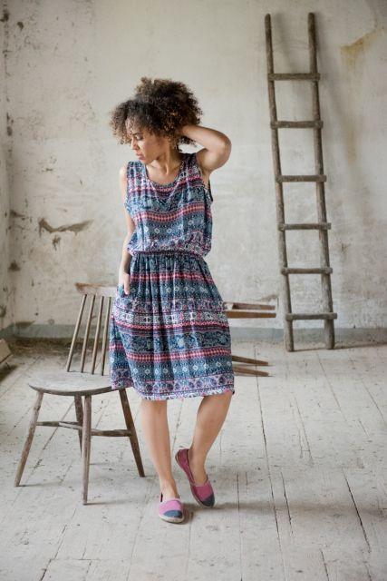 Sukienka Boho  | www.kokoworld.pl #kokoworld #africa #fashion #handmade #summertime
