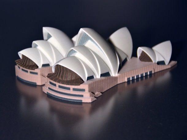 3D Printing Service i.materialise   Sydney Opera House