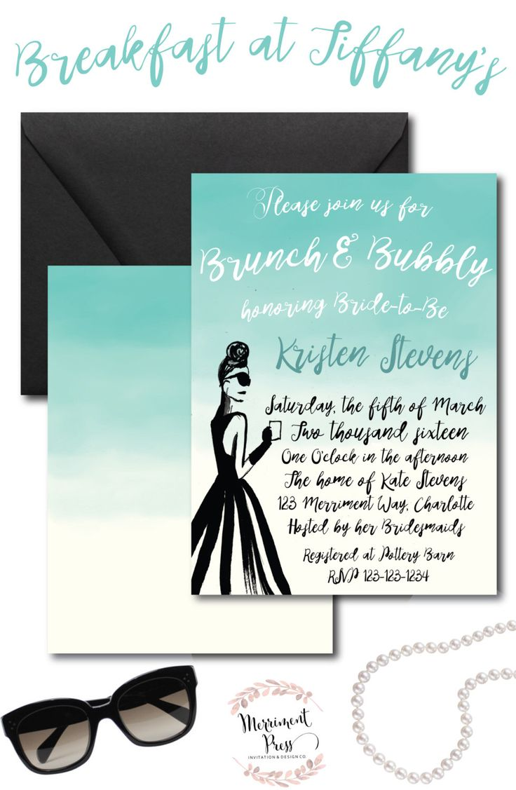 28 Best Merriment Press Brunch And Bubbly Invitations Images On
