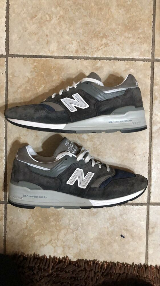 buy online 61ac7 51896 NEW BALANCE SHOES STYLE M997NV COLOR NAVY MADE IN THE USA Size 8.5  fashion   clothing  shoes  accessories  mensshoes  athleticshoes (ebay link)