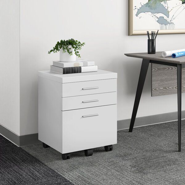 Barnaton 3 Drawer Vertical Filing Cabinet In 2021 Filing Cabinet Cabinet Stylish Desk