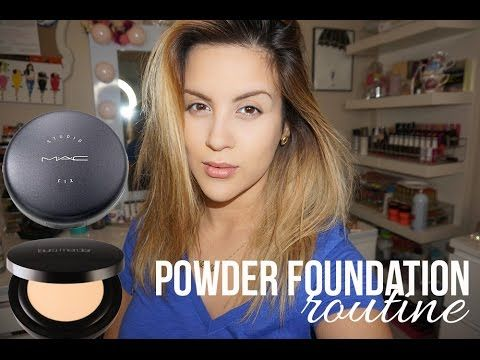 How To | Powder Foundation Routine. This is what I do daily. No liquid foundation.