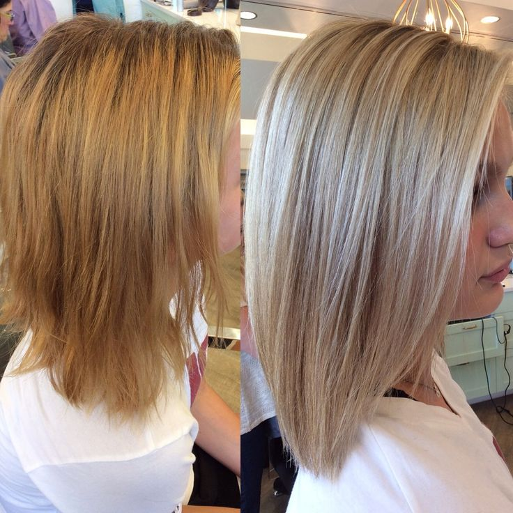 Going from Brunette to Blonde is not an easy process. A lot of clients think it can just be done in one visit, by putting one color all over the hair, simple as that...but that's not the case. It takes skill, patience, confidence, experience, a colorist who knows her stuff, and a client who is cool, calm and collected through the many stages of blonding. In this post we will talk about wheather you're the right candidate for becoming a blonde, how to get there, and how to keep it lookin...