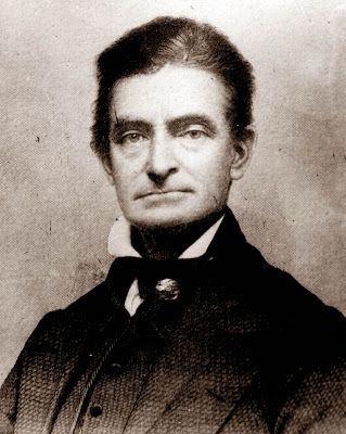 John Brown ~ abolitionist who raided Harper's Ferry