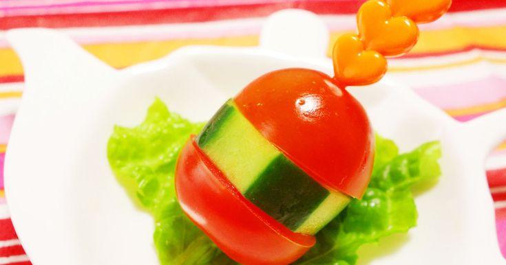 お弁当の隙間埋め♡野菜バーガー by ミナいちご [クックパッド] 簡単おいしいみんなのレシピが253万品