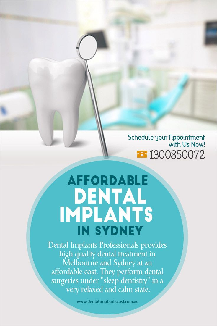 """Dental Implants Professionals provides high quality #dental_treatment in Melbourne and Sydney at an affordable cost. They perform dental surgeries under """"sleep dentistry"""" in a very relaxed and calm state."""