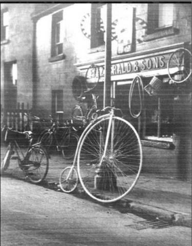 Really old photo Kilmainham store