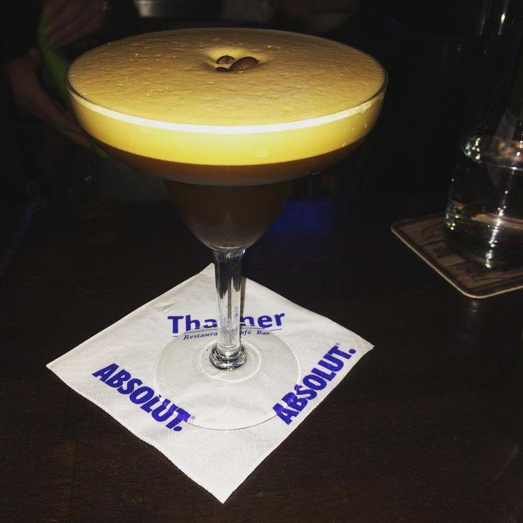 #espressomartini #thanner #cocktails #coffeeliqueur #aftherwork #lavazza #bartender #espresso  @bartender_lives_ wars