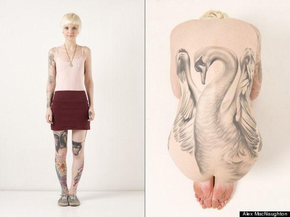 Swan ink Tattoo Art