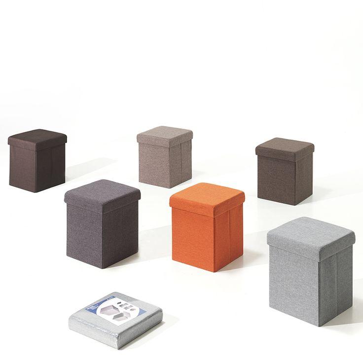 1000 ideas about pouf rangement on pinterest rangement chaussures pouf ot - Pouf avec coffre rangement ...