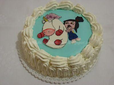 Le    ricette    di    Claudia  &   Andre : Torta Agnes e unicorno ( The Minions)