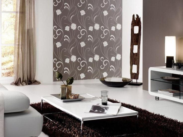 A Beautiful White Furnished Living Room Becomes More Beautiful When A Small  Wall Area Is Highlighted Part 23