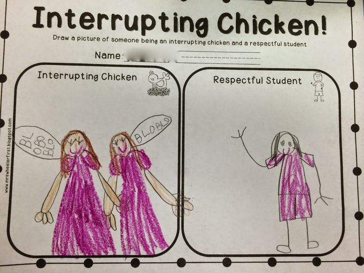 ms sepp 39 s counselor corner interrupting chickens in kindergarten counseling behavior. Black Bedroom Furniture Sets. Home Design Ideas