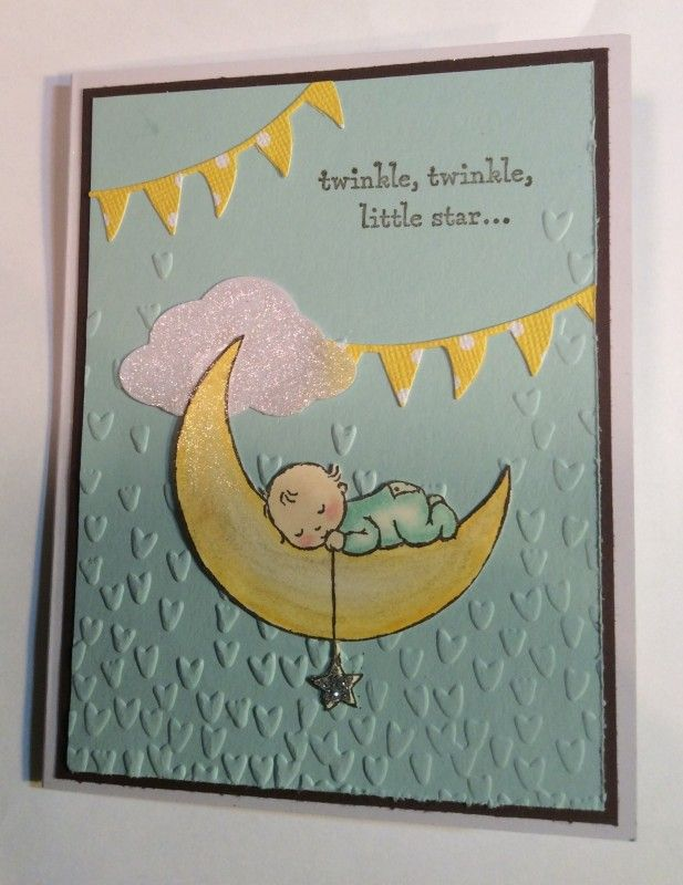baby picture card