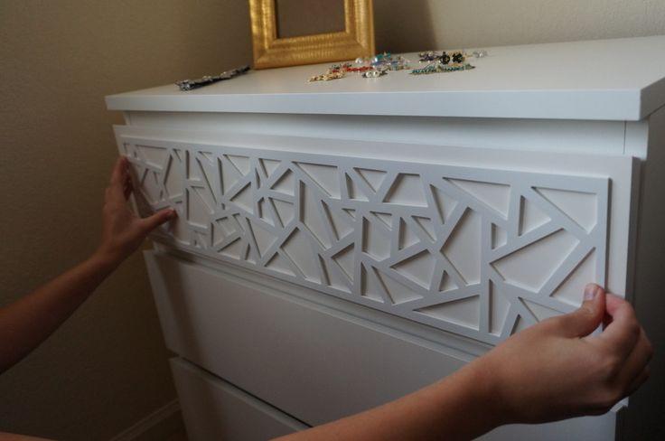 O'verlays - company sells decorative attachments for Ikea furniture