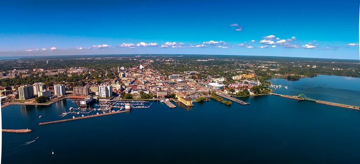 Photo: Arial - Harbour front and Causeway