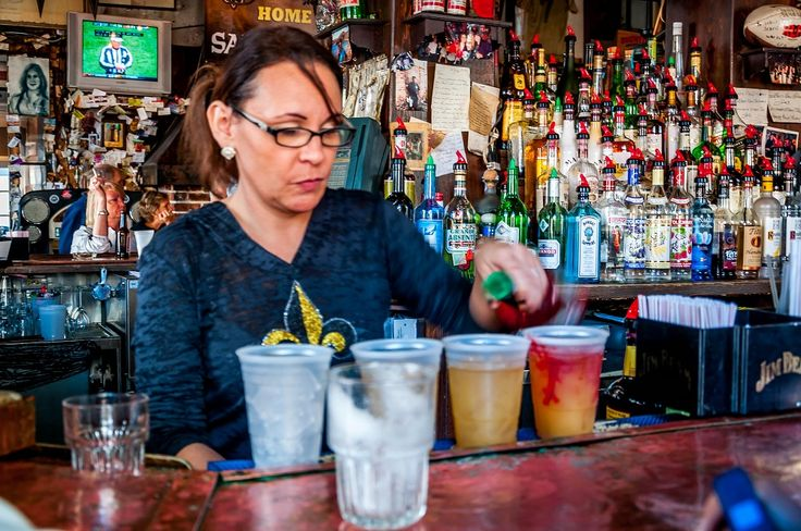 Hurricane cocktails are just one of the great foods and drinks to try on a trip to New Orleans, Louisiana.