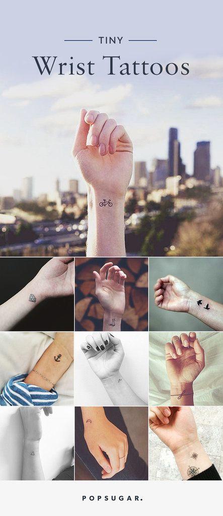 Tiny Wrist Tattoos | POPSUGAR Beauty Photo 31