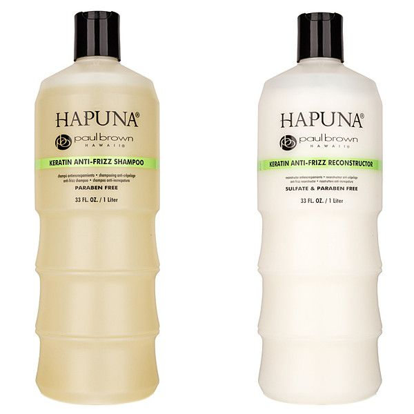 Paul Brown Hawaii 33-Oz. Silk-Infused Shampoo & Keratin Reconstructor... ($40) ❤ liked on Polyvore featuring beauty products, haircare and hair conditioner