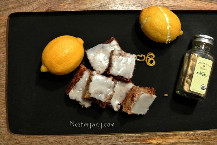 Ginger Lemon Bars | Recipe
