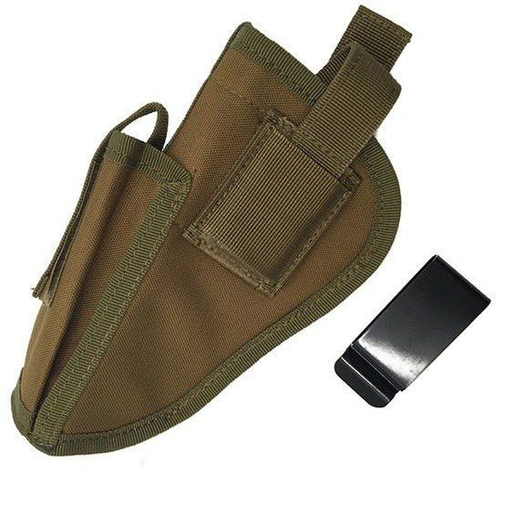 Right Left Interchangeable Tactical Pistol Bag