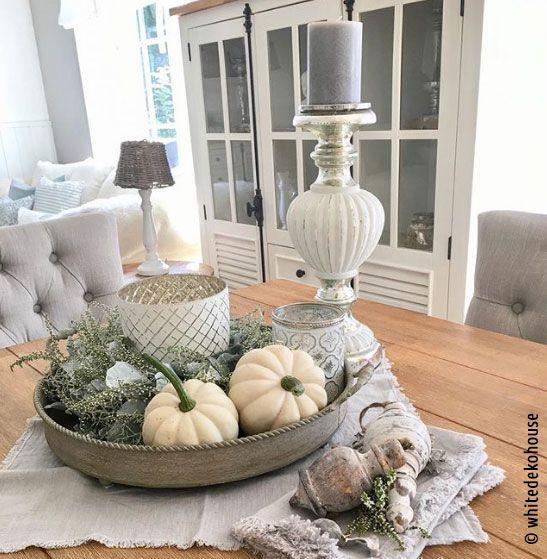 Ideen für eine Herbstdeko mit Kürbis