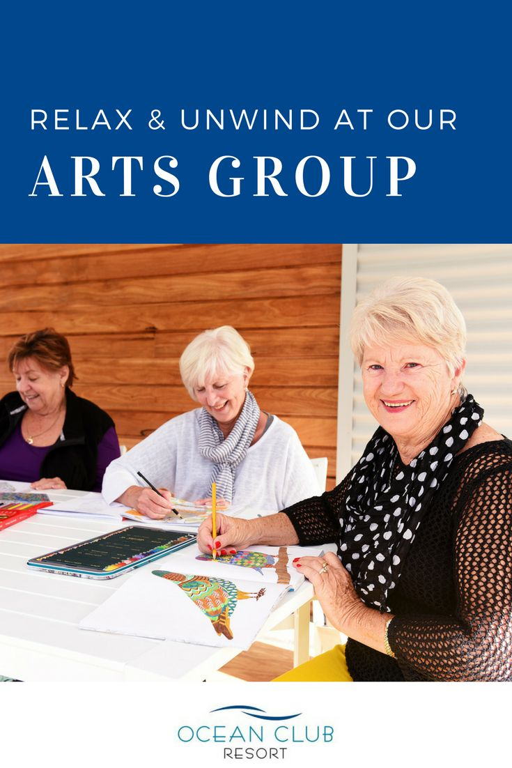 Enjoy our Adult's Colouring-in Group or our Fine Arts Group every week at Ocean Club Resort.   This is just one of the many activities we have on offer. Call Karen today on 1800 462 326 if you want to experience the best in over 50's living!   #atOCR #OceanClubNSW #OceanClubResort #PortMacquarie #Retirement #RetiredLiving #LuxuryRetirement #GatedCommunity #SeaChange #Downsize #Property #RetirementLiving #ResortLiving #adultcolouring #colouring #art #fineart