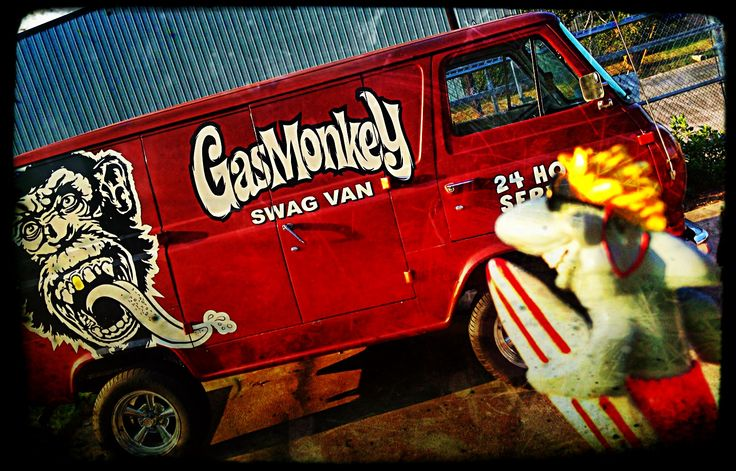 #finntheshark at #gasmonkeygarage in #dallas #tx #fastNloud #gmg #discoverychannel #texas