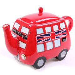 Routemaster Red Bus Teapot