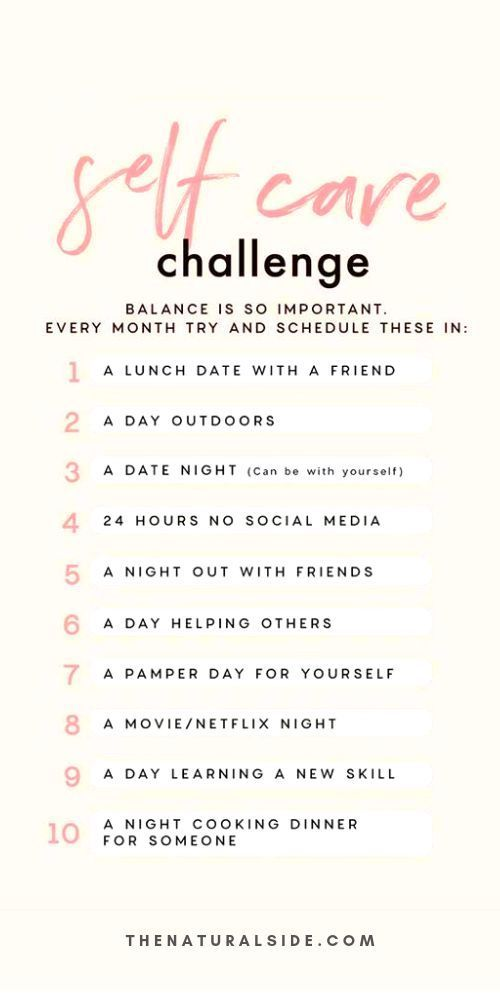 Self Care Challenge: 101 Self Care-Ideen für Ihre Self Care-Routine. #Selbstliebe #…   – Self Care and Self Love for Busy Moms