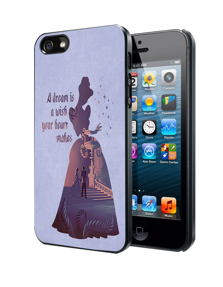 Cinderella Dream Quote Disney Samsung Galaxy S3/ S4 case, iPhone 4/4S / 5/ 5s/ 5c case, iPod Touch 4 / 5 case