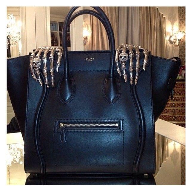 buy replica bag - C��LINE Paris #handbag with #skeleton hands. Totally rockin ...