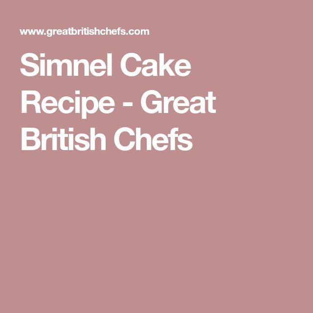 Simnel Cake Recipe - Great British Chefs