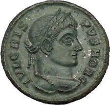 Crispus Constantine the Great son 321AD Ancient Roman Coin Sucess Wreath i53259 https://trustedmedievalcoins.wordpress.com/2015/12/18/crispus-constantine-the-great-son-321ad-ancient-roman-coin-sucess-wreath-i53259/
