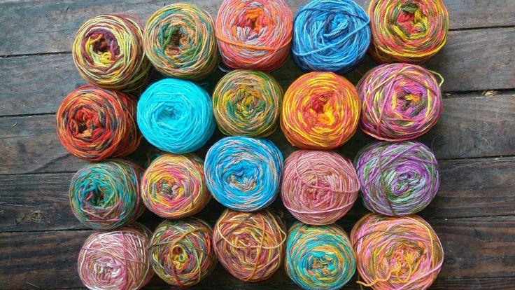 Hilados para Telares,Bordados,Crochet,Palillos ,Horquillas ,Tunecino ,etc.
