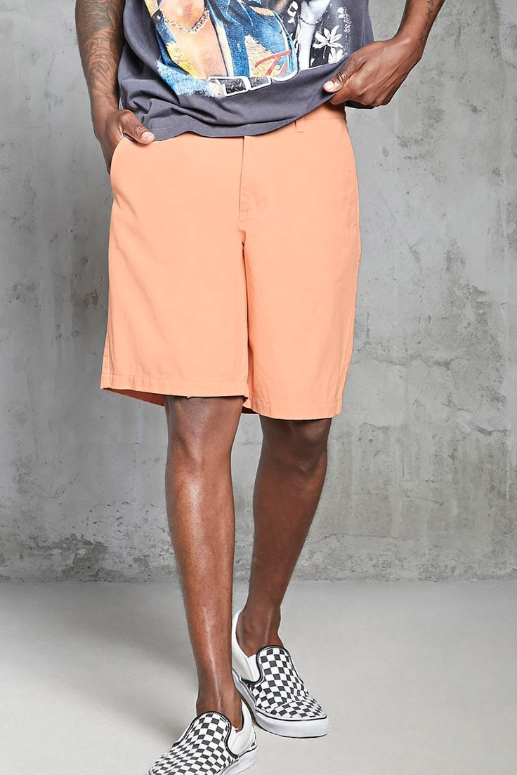 Woven Chino Shorts | 21 MEN - 2000321926