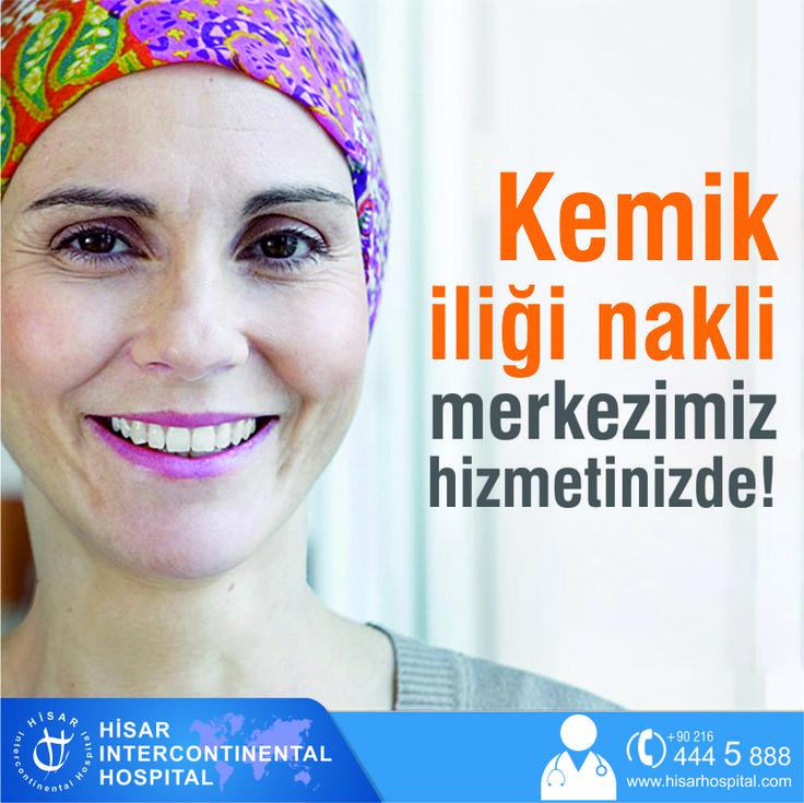 Kemik İliği Nakli Merkezimiz Hizmetinizde..!  Hisar Intercontinental Hospital Kemik iliği Nakli Merkezi uluslararası standartlarda hasta bakımı ve konforu gözetilerek dizayn edilmiş, güncel tıp teknolojisi ile donatılmıştır.  Devamı için tıklayın ---> http://ufa.lt/Zn6e2A