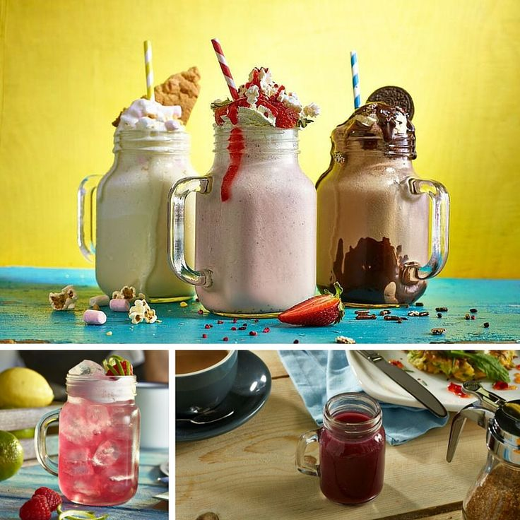 Mason Jars For Smoothies, Cocktails & Jam!