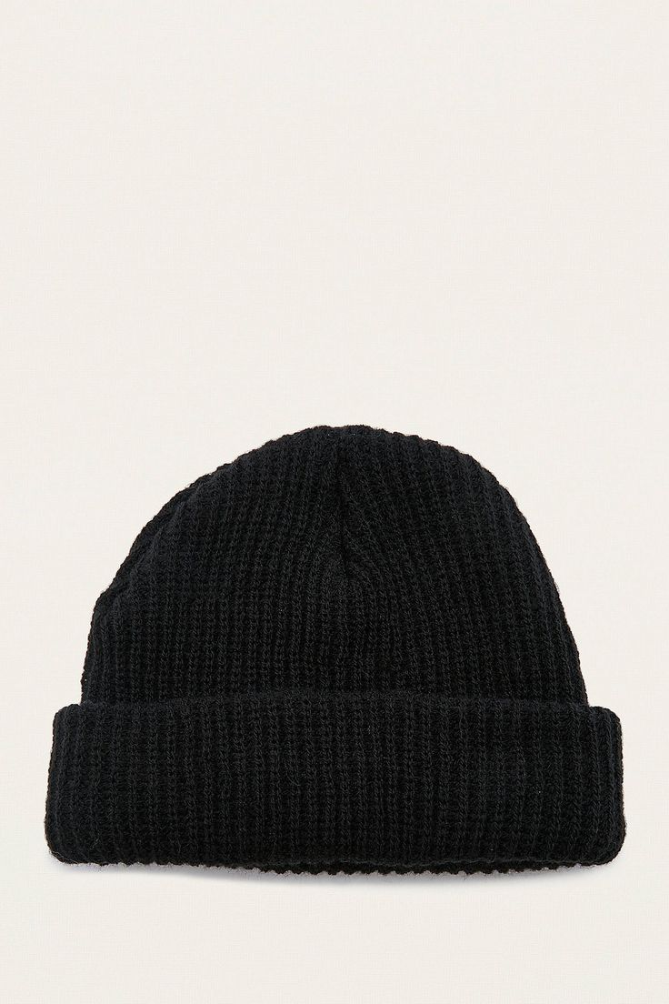 Shop UO Mini Roll Black Beanie   at Urban Outfitters today. We carry all the latest styles, colours and brands for you to choose from right here.