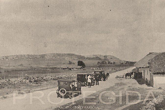 Vía Bogotá - Soacha, año 1928