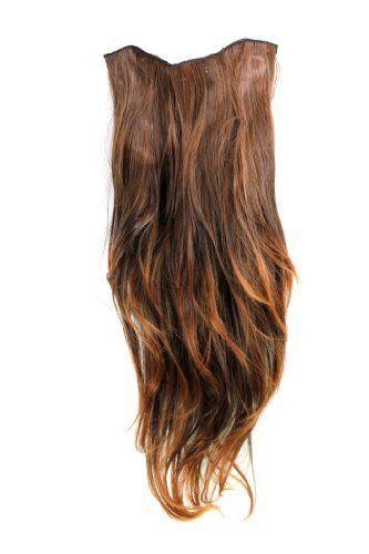 Clip-in Haarteil mit 7 Klammern, 3/4 Perücke Dunkel-Rot-Braun 60 cm H9505-2T30 Haarverlängerung Wig Wig me up http://www.amazon.de/dp/B005QMGQW8/ref=cm_sw_r_pi_dp_5uAVwb1AD1HXR