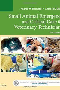 323227740 - Small Animal Emergency and Critical Care for Veterinary Technicians, 3e - Small Animal Emergency and Critical Care for Veterinary Technicians, 3e by Andrea M. Battaglia LVT 323227740 Master the veterinary technician's role in caring for pets requiring emergency and critical care! Small Animal Emergency and Critical Care for Veterinary Technicians, 3rd Edition provides ... - http://lowpricebooks.co/323227740-small-animal-emergency-and-critical-care-for-veterinary
