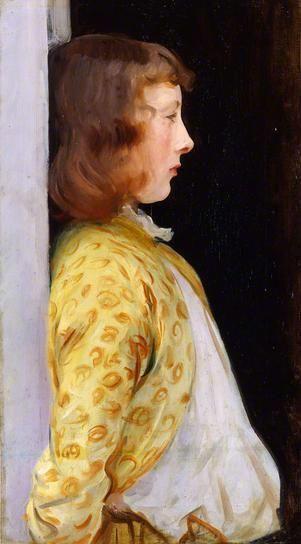 Portrait Of Dorothy Barnard Artist John Singer Sargent Completion Date 1889 Style Realism Genre Technique Oil Material Canvas Dimensions 70